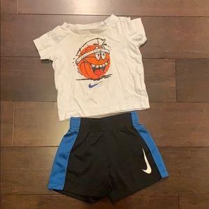 Nike boys 12 month shorts/T-shirt outfit
